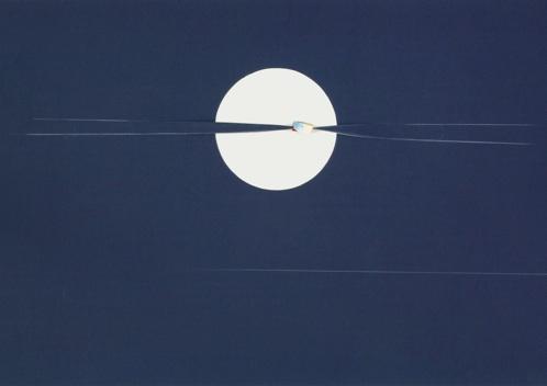 Opera di Angelo Bianchi - Spicchio di Luna